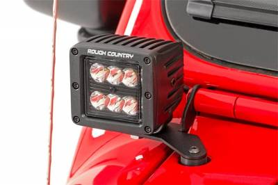 Rough Country - Rough Country 70052 LED Lower Windshield Kit - Image 2