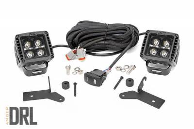 Exterior Lighting - Exterior LED Kit - Rough Country - Rough Country 70052DRLA LED Lower Windshield Kit