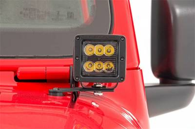 Rough Country - Rough Country 70052DRLA LED Lower Windshield Kit - Image 4