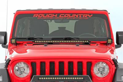 Rough Country - Rough Country 70052DRLA LED Lower Windshield Kit - Image 5