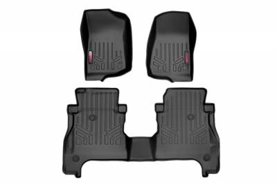 Rough Country - Rough Country M-61505 Heavy Duty Floor Mats - Image 1
