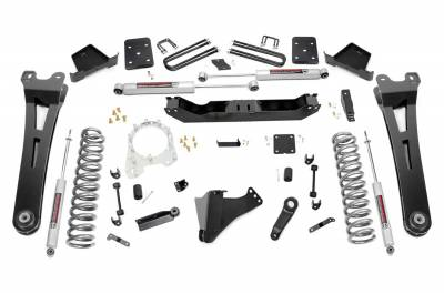 Rough Country - Rough Country 51230 Suspension Lift Kit w/Shock - Image 1