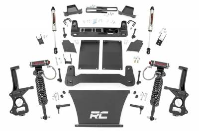 Rough Country - Rough Country 27557 Suspension Lift Kit w/Shocks - Image 1