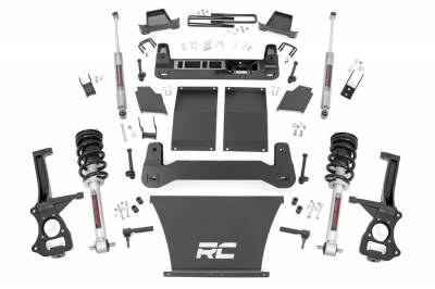 Rough Country - Rough Country 27532 Suspension Lift Kit w/Shocks - Image 1