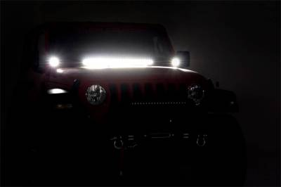 Rough Country - Rough Country 70054 LED Light Bar Hood Kit - Image 5