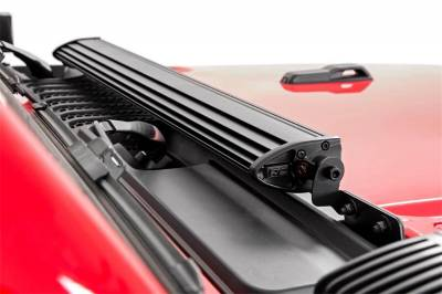 Rough Country - Rough Country 70054 LED Light Bar Hood Kit - Image 3