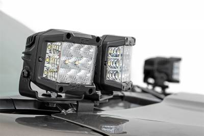 Rough Country - Rough Country 70868 LED Lower Windshield Ditch Kit - Image 3