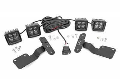 Exterior Lighting - Exterior LED Kit - Rough Country - Rough Country 70871 LED Lower Windshield Ditch Kit