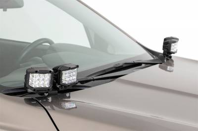 Rough Country - Rough Country 70873 LED Lower Windshield Ditch Kit - Image 4