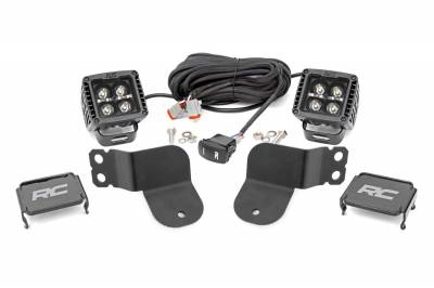 Exterior Lighting - Offroad/Racing Lamp Kit - Rough Country - Rough Country 93024 Black Series Cube Kit