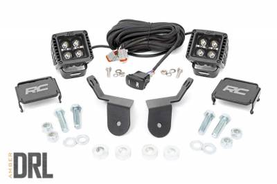 Exterior Lighting - Offroad/Racing Lamp Kit - Rough Country - Rough Country 92021 Black Series Cube Kit