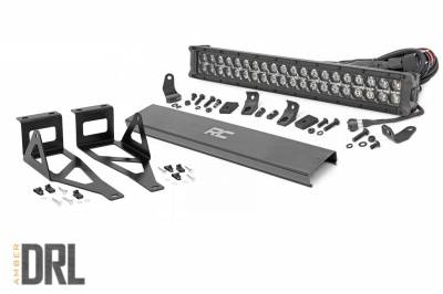 Exterior Lighting - Offroad/Racing Lamp Kit - Rough Country - Rough Country 70665DRLA Black Series LED Kit