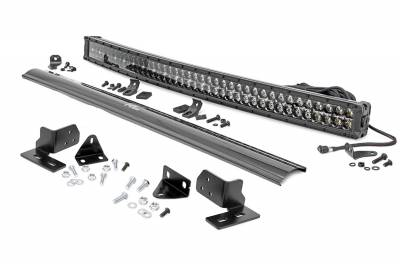Exterior Lighting - Offroad/Racing Lamp Kit - Rough Country - Rough Country 70682DRL Black Series LED Kit
