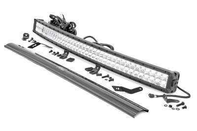 Exterior Lighting - Offroad/Racing Lamp Kit - Rough Country - Rough Country 92045 Chrome Series LED Kit