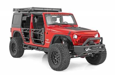 Hood Accessories - Hood - Rough Country - Rough Country 10527 Powder Coated Hood Louver
