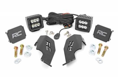 Exterior Lighting - Offroad/Racing Lamp Kit - Rough Country - Rough Country 92032 Black Series LED Kit