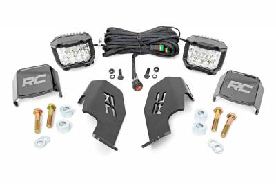 Exterior Lighting - Offroad/Racing Lamp Kit - Rough Country - Rough Country 92035 Black Series LED Kit