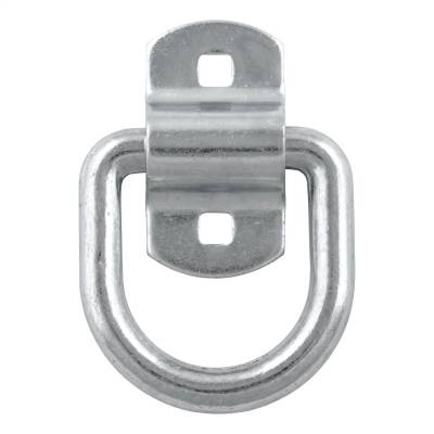 Trailer Hitch Accessories - D-Ring - CURT - CURT 83742 Forged D-Ring/Brackets