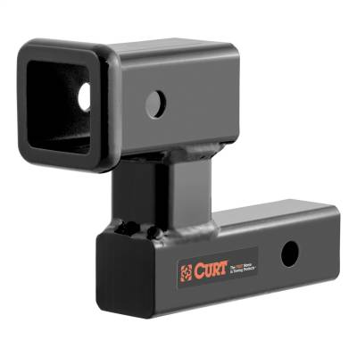 Trailer Hitch Accessories - Trailer Hitch Receiver Tube Adapter - CURT - CURT 45794 Raised Receiver Adapter