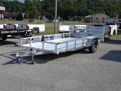 2021 Sure-Trac 7x14 Aluminum Tube Top Utility Trailer 3K