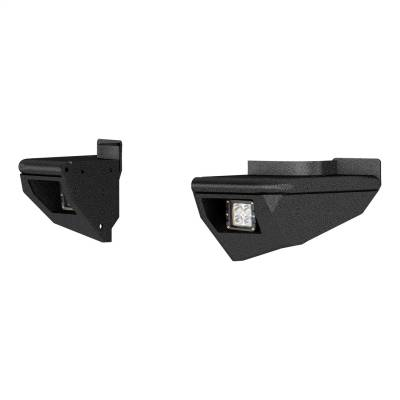 Bumper Accessories - Bumper Corner Set - ARIES - ARIES 2081223 TrailChaser Rear Bumper Side Extensions w/LED Lights