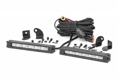 Exterior Lighting - Exterior LED Kit - Rough Country - Rough Country 70406A Cree LED Lights