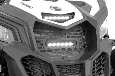 Exterior Lighting - Exterior LED - Rough Country - Rough Country 97022 Dual LED Grille Kit