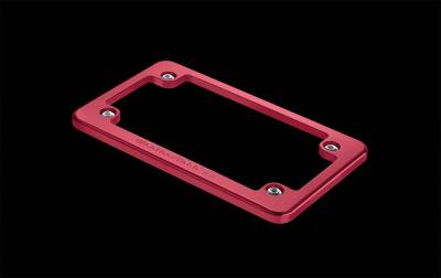 License Plate Accessories - License Plate Frame - WeatherTech - WeatherTech 8AMPF4 Motorcycle Billet Plate Frames