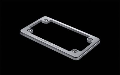 License Plate Accessories - License Plate Frame - WeatherTech - WeatherTech 8ALPF2 Billet License Plate Frame