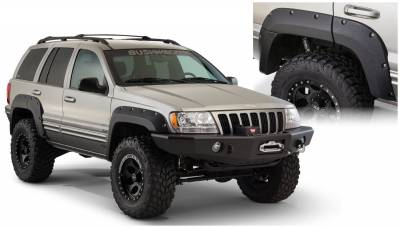 Fender Flare - Fender Flare - Bushwacker - Bushwacker 10072-07 Cut-Out Fender Flares