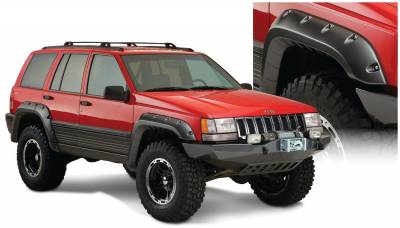 Fender Flare - Fender Flare - Bushwacker - Bushwacker 10916-07 Cut-Out Fender Flares