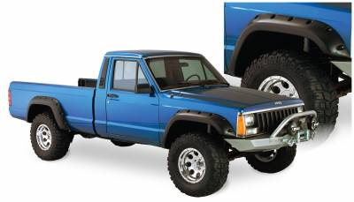 Fender Flare - Fender Flare - Bushwacker - Bushwacker 10912-07 Cut-Out Fender Flares