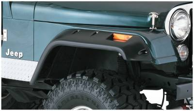 Fender Flare - Fender Flare - Bushwacker - Bushwacker 10059-07 Cut-Out Fender Flares