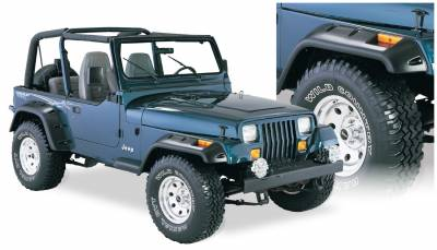 Fender Flare - Fender Flare - Bushwacker - Bushwacker 10909-07 Cut-Out Fender Flares