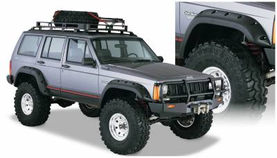Fender Flare - Fender Flare - Bushwacker - Bushwacker 10911-07 Cut-Out Fender Flares