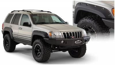 Fender Flare - Fender Flare - Bushwacker - Bushwacker 10071-07 Cut-Out Fender Flares