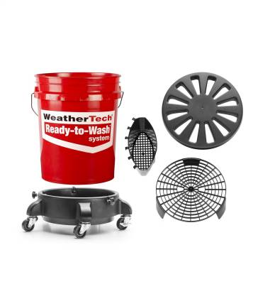 Cleaner/Protectant - Car Wash Kit - WeatherTech - WeatherTech 8ARTW1 Ready To Wash System