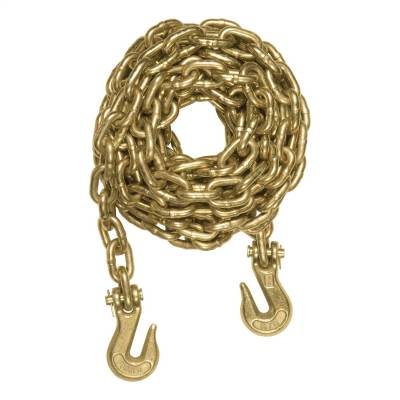 Trailer Hitch Accessories - Trailer Hitch Safety Chain - CURT - CURT 80309 Transport Binder Safety Chain Assembly