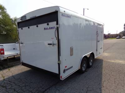 Trailers - Haul-About Trailers - 2022 Haul-About 8.5x16 Leopard Cargo Trailer 10K
