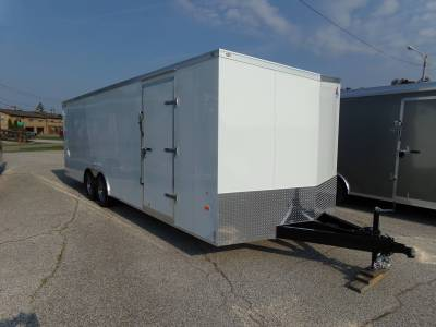 Trailers - Haul-About Trailers - 2022 Haul-About 8.5x24 Cougar Cargo Trailer 10K
