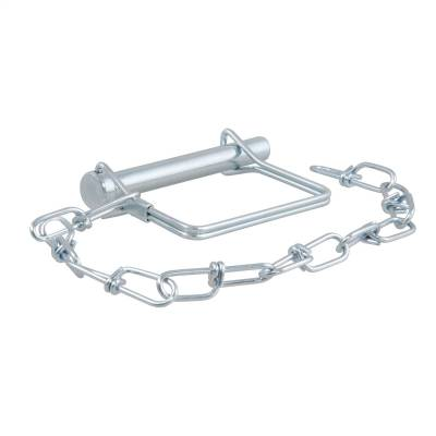 Trailer Hitch Accessories - Trailer Hitch Coupler Lock - CURT - CURT 28000 Coupler Safety Pin