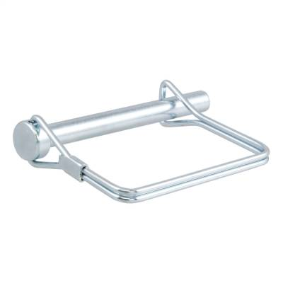 Trailer Hitch Accessories - Trailer Hitch Coupler Lock - CURT - CURT 25010 Coupler Safety Pin