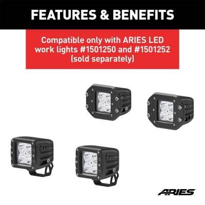 ARIES - ARIES 1501243 LED Worklight Extension Harness - Image 3