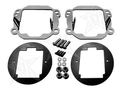 Fog/Driving Lights and Components - Fog Light Bracket - Rigid Industries - Rigid Industries 40138 Fog Light Replacement Kit