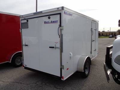 Haul-About Trailers - 2022 Haul-About 6x12 Bobcat Cargo Trailer 3.5K - Image 2