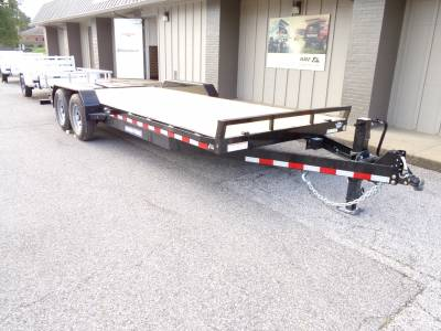 Sure-Trac Trailers - 2022 Sure-Trac 7x17+3 Universal Ramp Implement Trailer 14K - Image 2