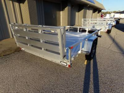 2022 Sure-Trac 6x10 Aluminum Tube Top Utility Trailer 3K