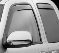 Weathertech Dark and Light Tint In Channel Side Window Deflectors
