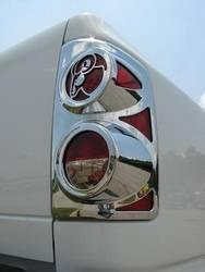 Exterior Lighting - Tail Light Cover Trim - V-Tech - V-Tech 1327834 Big Horns Tail Light Cover