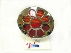 Exterior Lighting - Tail Light Cover Trim - V-Tech - V-Tech 1392126 Auto Specialties Tail Light Cover
